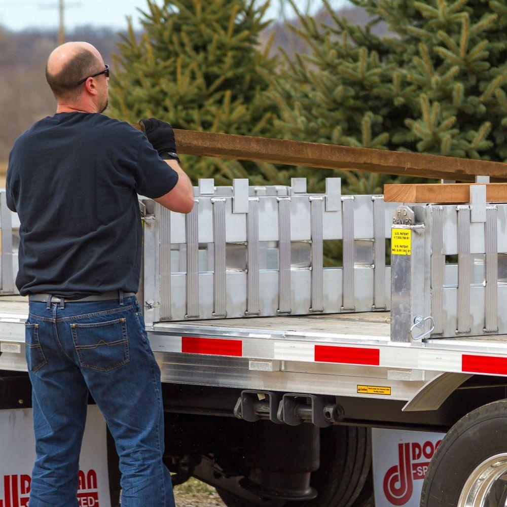 Apitong hardwood load leveler dunnage discount ramps