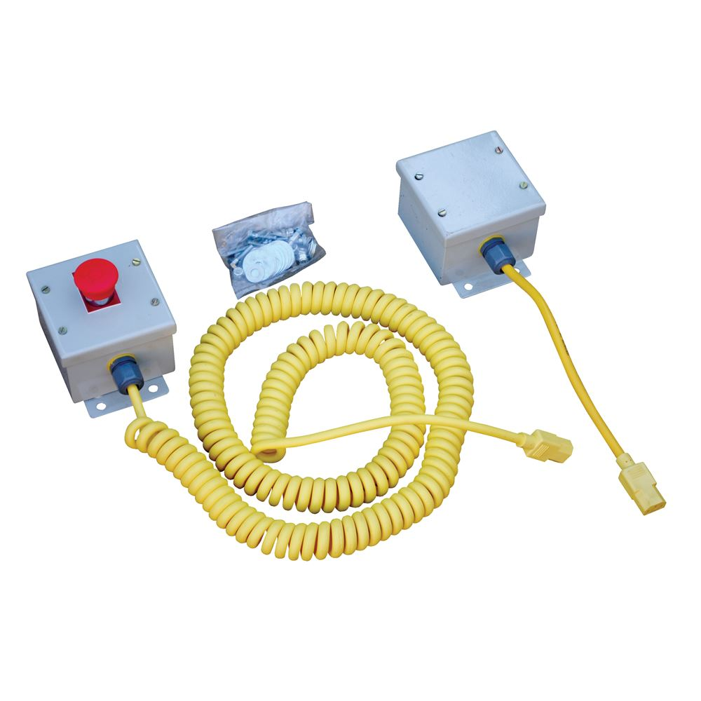 WP-SB Vestil Optional Emergency Stop Button Kit for Work Platforms