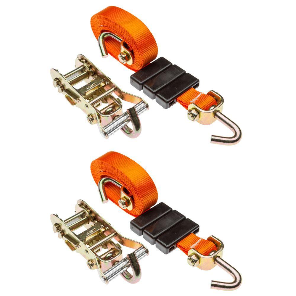 WTD-RAT-SWIVEL-2 2-Pack of Wheel Tie Down Straps