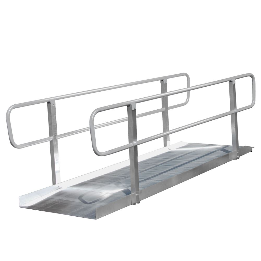 XPS436 4 L PVI OnTrac Wheelchair Access Ramp with Handrails