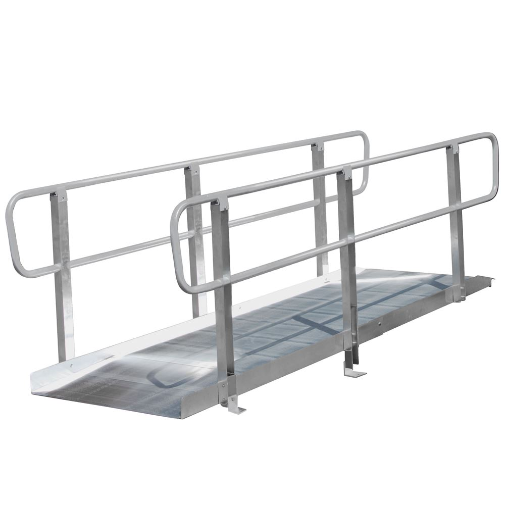 XPS636 6 L PVI OnTrac Wheelchair Access Ramp with Handrails