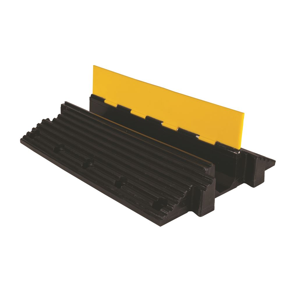 YJ1-500-YB 1-Channel Yellow Jacket Cable Protector for 5 Diameter Cables