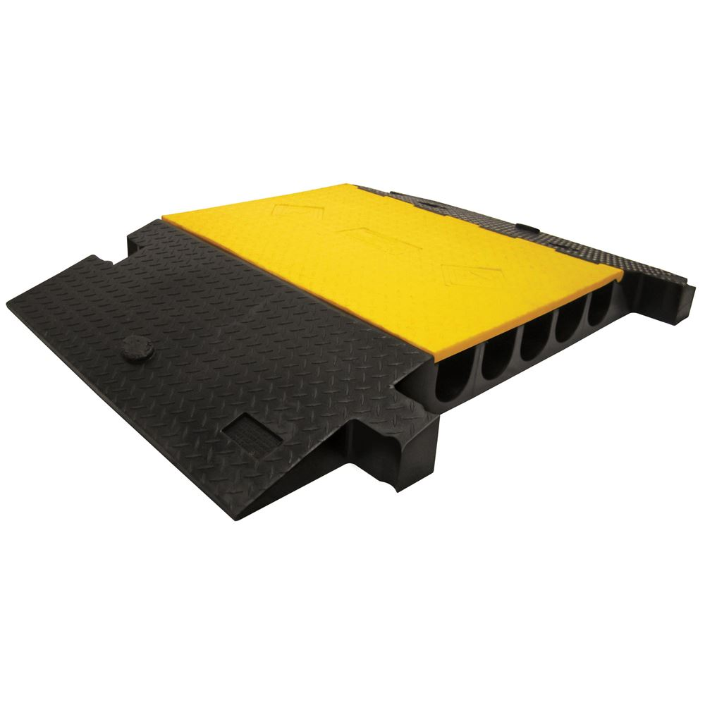 YJ5-400-YB 5-Channel Yellow Jacket Cable Protector for 3-34 Diameter Cables