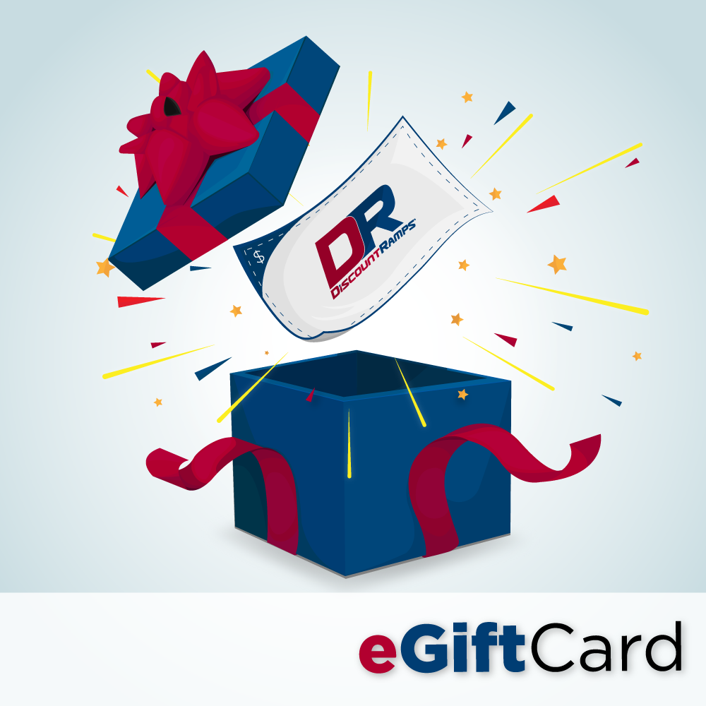 GIFT-CERTIFICATE Discount Ramps Gift Certificates