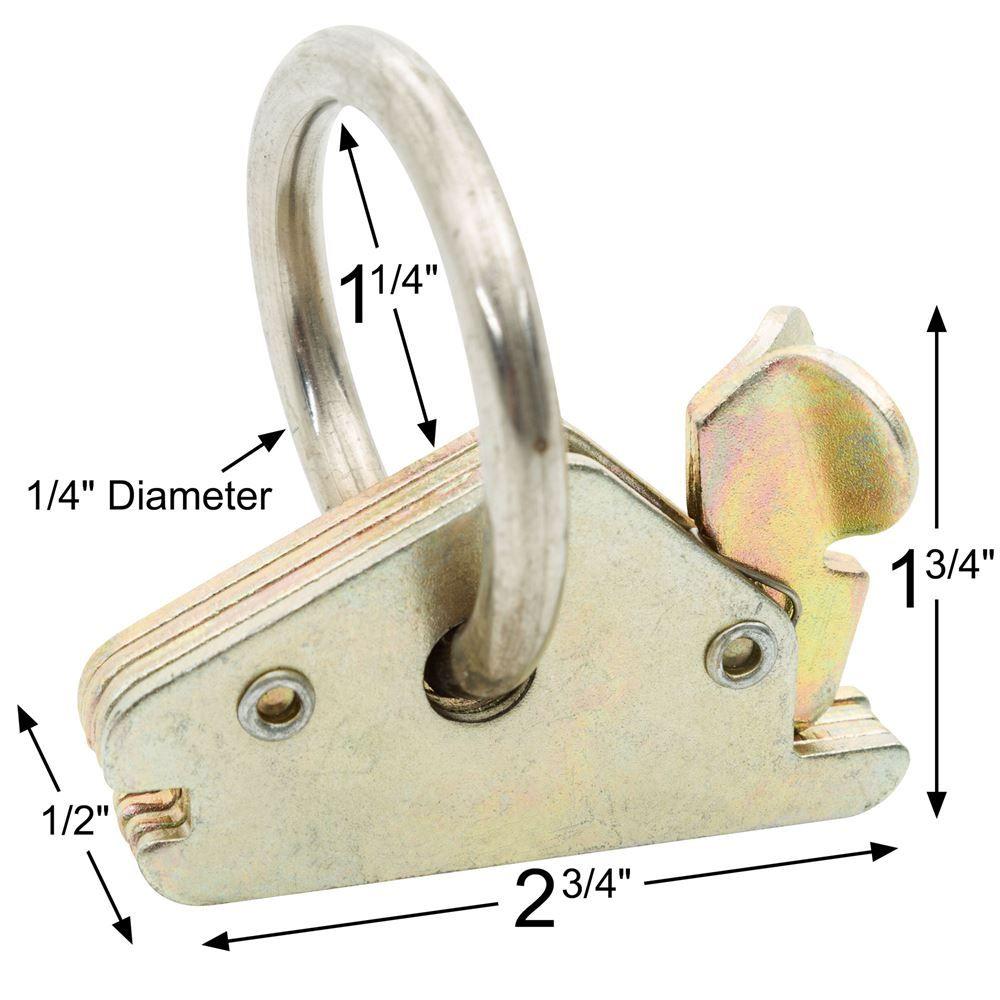 e-track ring dimensions