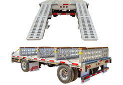 Step Deck Trailer Ramps / Levelers