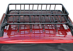 Roof racks and cargo baskets
