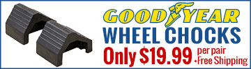 Goodyear Wheel Chocks