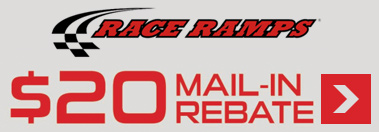 Race Ramp $20 Mail in Rebate Offer over $200