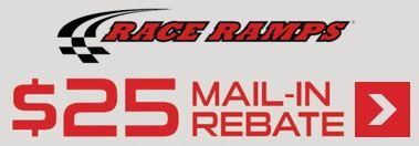 Race Ramp $25 Mail in Rebate Offer on RR-FS