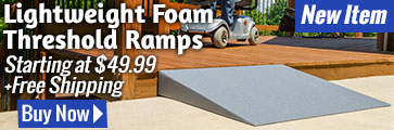 Lightweight Foam Threshold Ramps