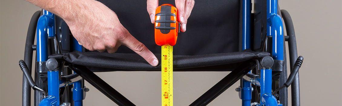 Measuring wheelchair
