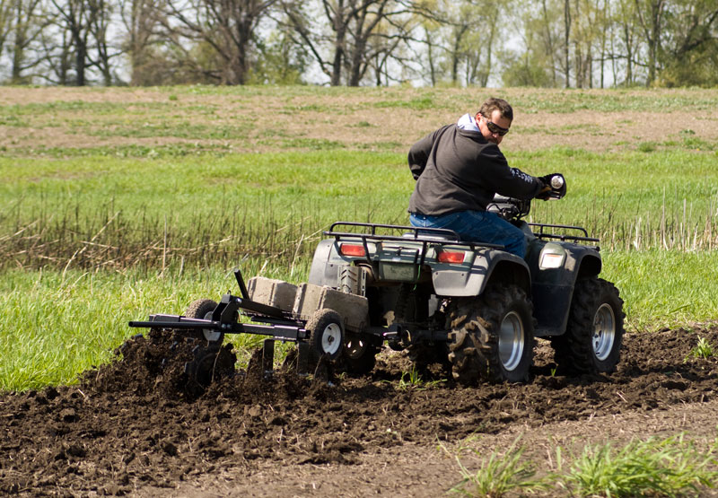 No Tractor Needed How To Plant A Food Plot With An Atv