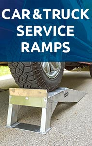 shop car and truck service ramps
