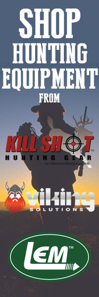 shop hunting equipment from Kill Shot, Viking Solutions, and LEM