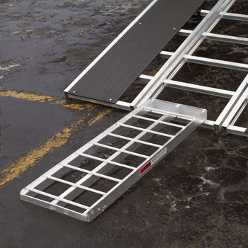 Snowmobile ramp extension