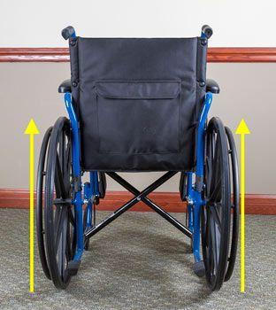 wheelchair camber
