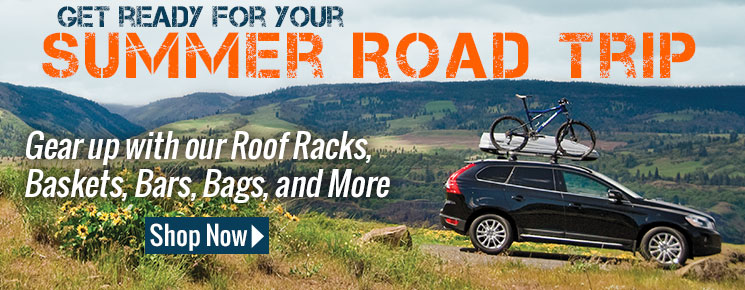 Get ready for your summer road trip with our auto cargo gear
