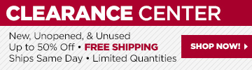 Shop our Clearance Center