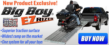 New Product Exclusive - EZ Rizer Motorcycle Ramp
