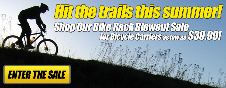 Bike Rack Blowout Sale