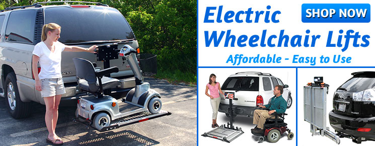 Electric Wheelchair Carriers
