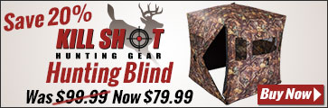 Hunting Blind - On Sale