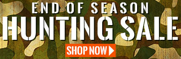 End of season hunting sale
