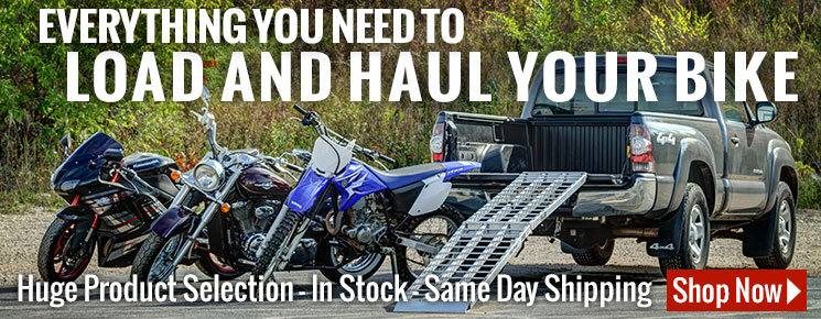 Everything you need to load and haul your bike