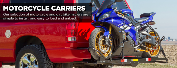 Shop our Motorcycle Carriers