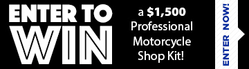 WIN a $2,000 Professional Shop Kit - Click Here!