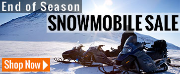 End of season snowmobile season