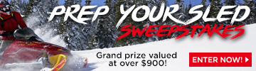 ENTER TO WIN a Snowmobile Shop Kit!