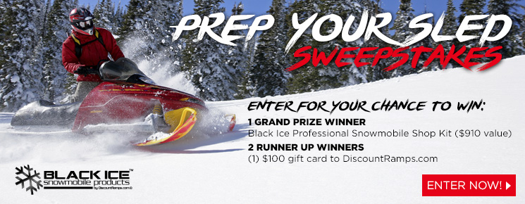 Win a professional snowmobile shop kit!