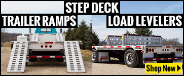 STep Deck Trailer Ramps and Load Levelers