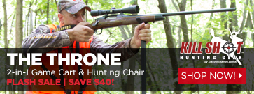 The Throne Multipurpose Game Cart & Hunting Chair by Kill Shot