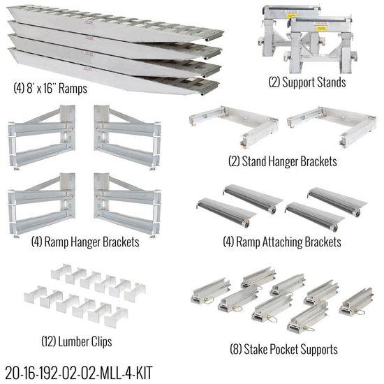 Complete 16 Load Leveler/Ramp Kit