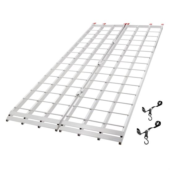 Aluminum Extra-Long Bi-Fold ATV Ramp - 710 Long