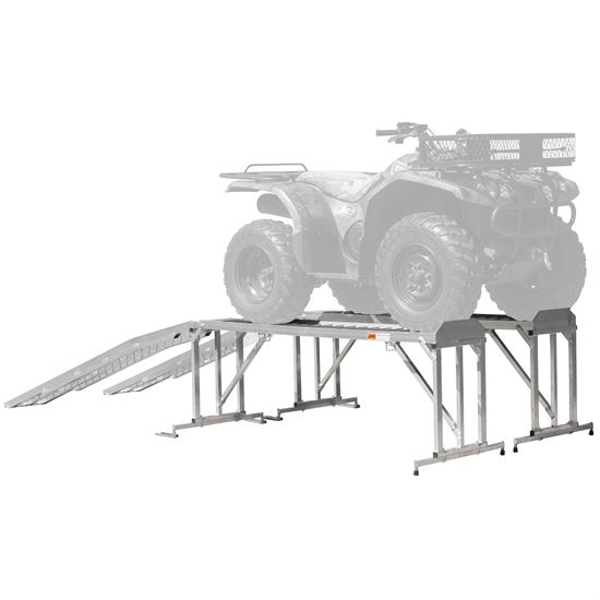 Garden Tractor Stand : Lawn tractor atv stand for service or display discount