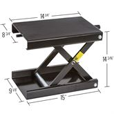 Motorcycle scissor jack dolly dimensions