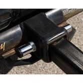 """Trailer hitch receiver 5/8"""" locking pin for class III/IV  *WILL NOT FIT ANY RACK WITH THREADED HITCH BOLTS INCLUDING: HMBC-2, HMBC-4, BC-X805-2 or BC-EGL-2+2, BC-8815-4AH+1EXT"""