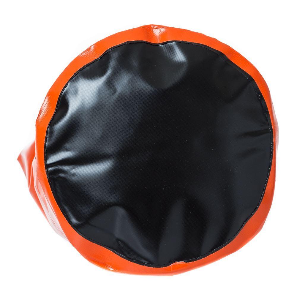 Bottom of the dry bag