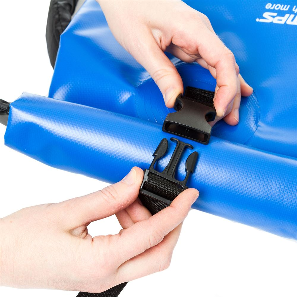 Dry bag backpack buckle