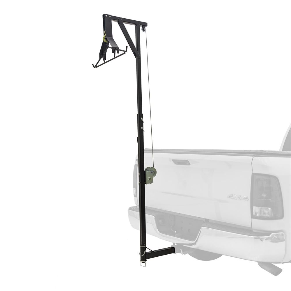 Kill Shot 300 lb Capacity Hitch-Mounted Deer Hoist with Gambrel