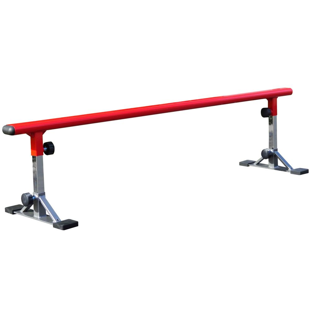 Freshpark Skateboard Grind Rail - Red