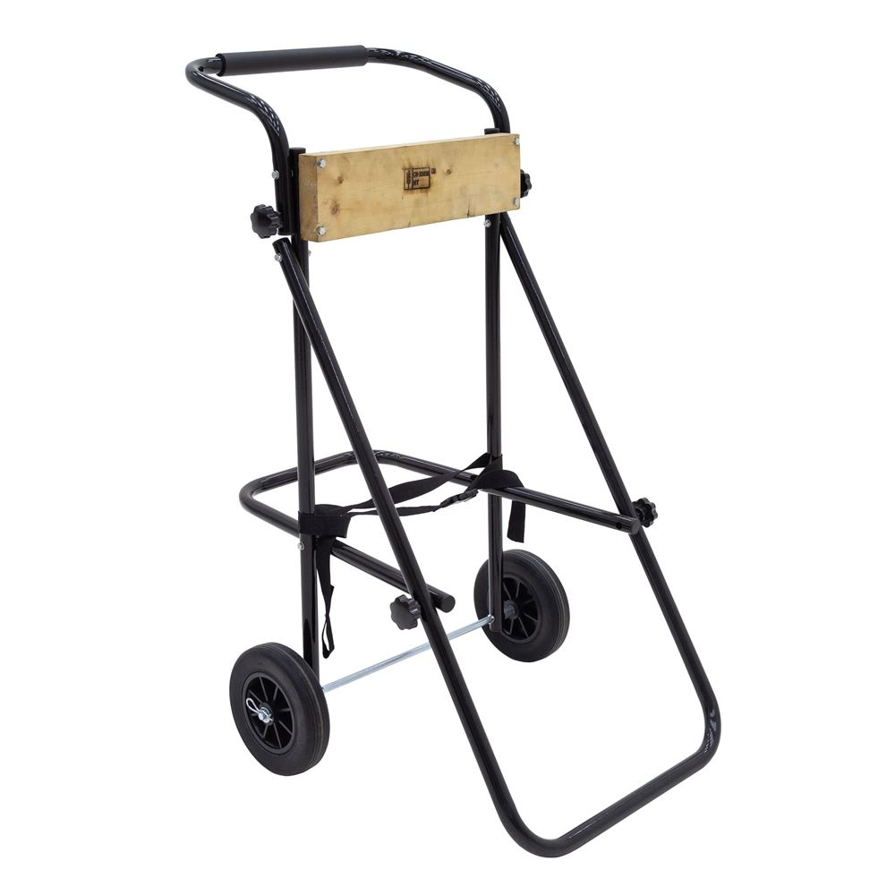 Outboard Motor Carrier : Folding outboard motor carrier cart stand for medium sized