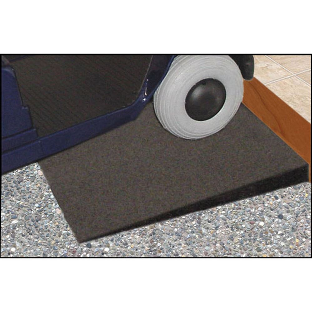 "2-1/2"" High Rubber Threshold Ramp"